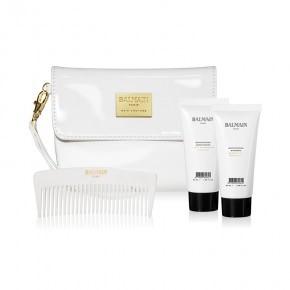 BALMAIN Cosmetic White Bag